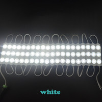 Wholesale 100pcs leds lm each injection led module with lens degree pure White V IP65 Anti fire ABS led module