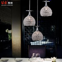 crystal chandelier lighting - modern minimalist contracted contemporary handmade crystal win glass dome light dining room lighting fashion lamp indoor lighting fixtures