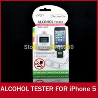 alcohol prevention - LCD Alcohol Tester for iPhone ipad alcootest alcool testeur Mini portable USB alcohol detector The prevention of drunk driving