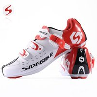 cycling shoes - Hot Selling SIDEBIKE Lightweight Men Cycling Bike Athletic Shoes MTB Road Bicycle Sport Shoes sneakers Autolock sapato ciclismo