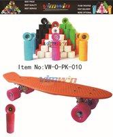 penny nickel boards - Retro Skateboard Deck inch Complete Plastic Board Penny Style Mini Cruiser Penny Nickel