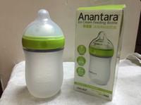 baby bottle tongs - Enno Tong silicone bottle months baby big bottle wide caliber anti flatulence newborn bottle drop resistance