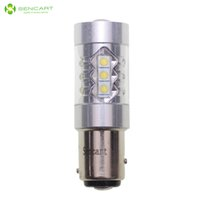 Wholesale Sencart Car Reversing Lamp P21 W Ba15d W xCREE XP E LED LM K Car Brake Light Turn Signal Light