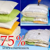 Wholesale 1Lot Hot Sale Household Items Storage Bag Vacuum Seal Compressed Organizer Clothes Quilt Finishing Dust Bag Pouch
