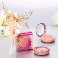 elf makeup - Q1324 Yan magic elf rouge blush genuine nude makeup send blush brush