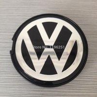 Wholesale 1000pcs Hot Sale mm BLUE Alloy Wheel Centre Center Cap Caps Car Badge Emblem Emblems for VW Volkswagen BY DHL N0601171