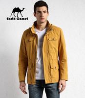 big camel - Fall Earth Camel Original Brand Men s Summer Good Quality Climbing Mountain Jacket Hooded Big Size Cardigan Clothing