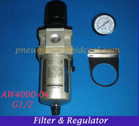 air filter combination - AW4000 G1 Air Filter and Regulator SMC type AW4000 Series FR Combination
