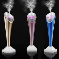 aroma appliances - Mini Multifunctional Portable Torch Shaped Humidifier Handy Air Purifier Aroma Diffuser Air Cleaning Appliances H16126