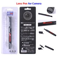 Wholesale Professional IT99 Lens Pen Camera Cleaning Lenspen with Retail Package Mini Digital Camera Filters Lens for DSLR VCR Camcorde