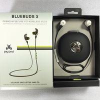 Wholesale Jaybird BlueBuds X Wireless Sport Earphone Professional Training Bluetooth Headphone with Retail Box Jay Bird Ultralight Headset DHL