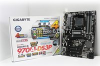 pc motherboard - original motherboard new Gigabyte A DS3P DDR3 AM3 supports AMD FX CPU big Desktop PC computer motherboard