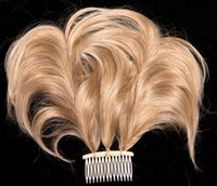 Wholesale Hair piece Hair comb Kanekalon fiber Blonde Acc Wearing a convenient Good quality exemption from postage cm