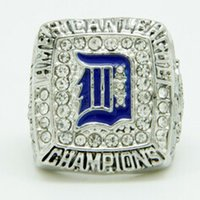 Wholesale Hot tigers men s rings champion ring