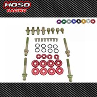 Wholesale HOSO RACING SK2 style B Series Vtec Low Profile Valve Cover Hardware for hodan B Series