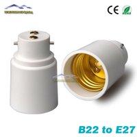 big converter - Big Promortion B22 to E27 Base LED Light Lamp Bulb Fireproof Holder Adapter Converter Socket Change