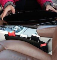 Wholesale 2 Car Trunk Seat Slit Gap Pocket Bag Catch Catcher Organizer Box Caddy Car Seat Slit Pocket Storage Bag