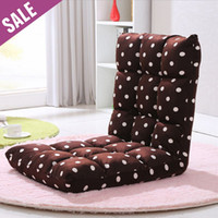 Wholesale Foldable Lounger Sofa Chair Tatami Adjustable Beanbag Lazy Sofa Bed Living Room Furniture Fast Shipping