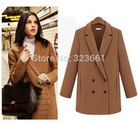 Cheap 2014 fall fashion women's plus size winter clothing Coat british style abrigos mujer casual manteau femme jakets