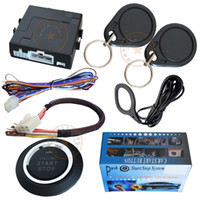 Wholesale car engine start stop button remote start stop working with car alarm system