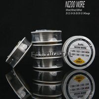 wire - Ni200 Wire heating resistance coil wick Spool AWG Feet for DIY RDA Atomizer Nichrome Kanthal A1 wire Best Quality Free DHL Shipping