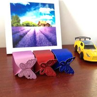Wholesale 2015 New Fashion Butterfly Wedding Favor Boxes High Quality Romantic Party Wedding Candy Box Noble Wedding Sweet Box
