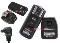 Wholesale 2 Receivers RF602 Wireless Flash Trigger for Canon D DS EOS D Mark II D D D D D D