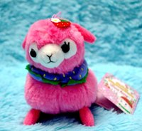 alpaca shawl - cm Baby Alpacasso Strawberry Hat Ball Shawl Arpakasso Alpaca Plush Stuffed Doll Toy