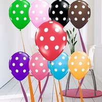 advertising - BL04 Factory direct personalized logo custom advertising balloons dot wedding party decoration balls pack