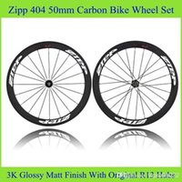 bicycle kit - Zi PP Road Racing Bicycle Wheelset Black Color Full Carbon Bike Wheels Powerway R13 Real Carbon Bike Parts Clincher Tubular Bicycle Kit