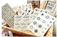Wholesale Fashion Body Art Temporary Tattoo Stickers Gold Metallic Temporary Tattoo Sticker