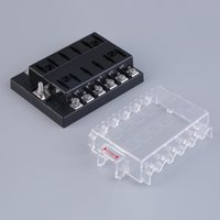 Wholesale 12 Road way car fuse boxes automotive fuse holder golf cart sport utility vehicles modified car fuse box V A