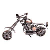 Wholesale New Large Size Handmade Heavy Iron Metal Simulation Motorcycle Model Creative Gift Arts And Crafts Decoration