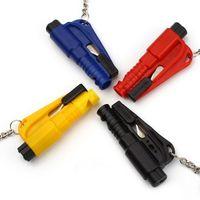 Wholesale Mini safety hammer car life saving escape hammer window emperorship keychain car Window broken emergency glass breaker