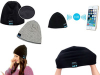 Wholesale Bluetooth Beanie Hat Wireless Gym Headphones Stereo Music Bluetooth Headset Hat