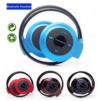 Cheap 2015 New Mini 503 Sports Bluetooth Stereo Wireless Headset Neckband Style Earphones for iphone samsung phone Computer Tablet PC Headphone