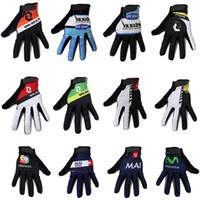 fleece gloves - 2015 Winter thermal fleece cycling gloves long finger sport gloves mtb bike ciclismo invierno cycling long gloves bicicleta