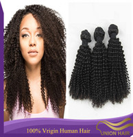 Cheap Kinky curly virgin hair Best Kinky curly hair weft
