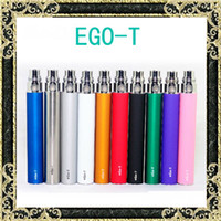 Wholesale Ego t Battery E Cigarette Ego Batteries for Thread Vaporizer mt3 CE4 CE5 CE6 ViVi Nova DCT atomizer mah Colorful battery