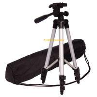 video tripod - High quality Professional Silver Vogue Universal Flexible Standing stand Tripod for Sony Canon Nikon Samsung Kodak Camera