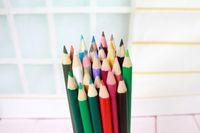 Wholesale graffiti pen New color lead stationery Korea stationery new color color pencil Secret Garden dauber