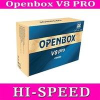 Wholesale 5pcs Openbox V8 Pro Receiver DVB S2 T2 C V8 Pro Combo Receiver Support Cccamd Newcamd Youtube Youporn USB Wifi