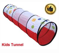 kids indoor play equipment - Childern Playing Indoor Outdoor Fun Tunnel Kids Play Game playground equipment multi function tent for child exercise toy