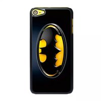 Wholesale For Ipod touch Itouch6 th Gen Superman X man Iron man Spiderman Batman Captain America Hard Plastic Case Cartoon Hero Phone skin Cover