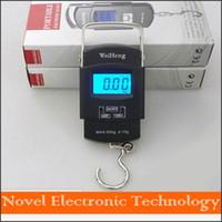 Wholesale new Digital Lage Scales Portable KG g Back light Wide Handle Hook Scale KG LB OZ