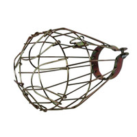 Wholesale Decorative DIY America Industrial Lamp Guard Cage Transformable Net Bulb Cage Lampshade Vintage Cage Lights Cover