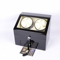 Wholesale Luxury Wooden Automatic Watch Winder Self Winding Box Watches watch winders timing proprams high quality