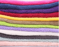 Wholesale Min Mixed Order Hand Towel hot Microfiber Fabric soft solid color towel for car wash