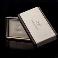 Wholesale Brand Luxury DW Daniel Wellington Original Watch Boxes A Complete Set Leather Watches Box With Tags Logo LCC3
