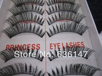 no minimum order - Minimum order pairs pack High quality princess lee handmade false eyelashes no slightly dense lengthen
